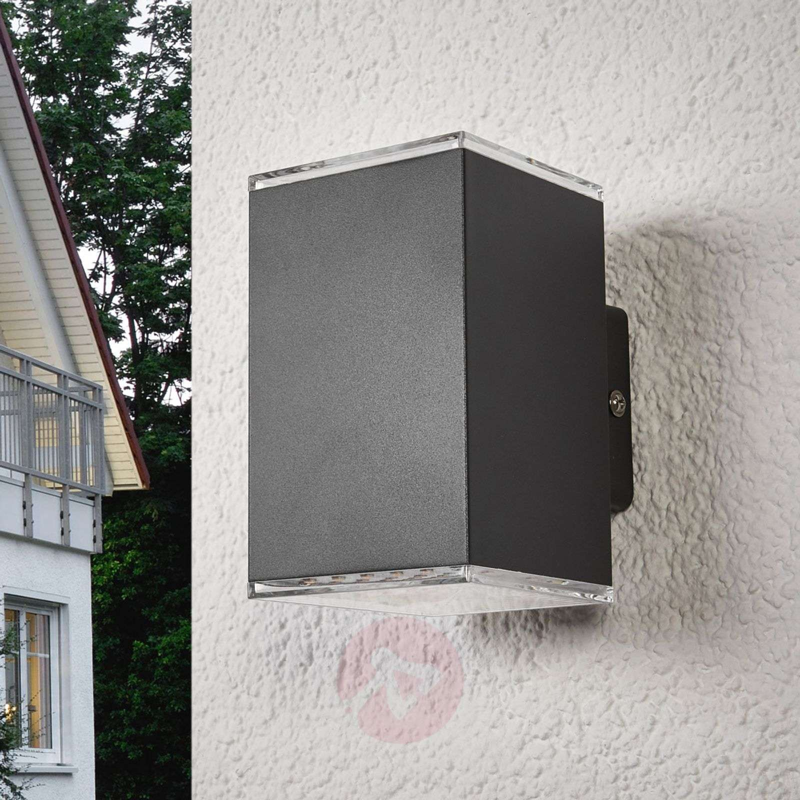 Compra aplique de pared exterior led lydia 2 llamas - Aplique de pared exterior ...
