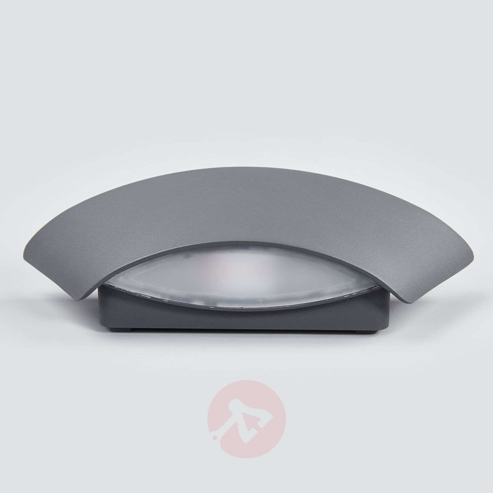 Aplique de pared exterior LED trapez. Glen IP65-9617039-02