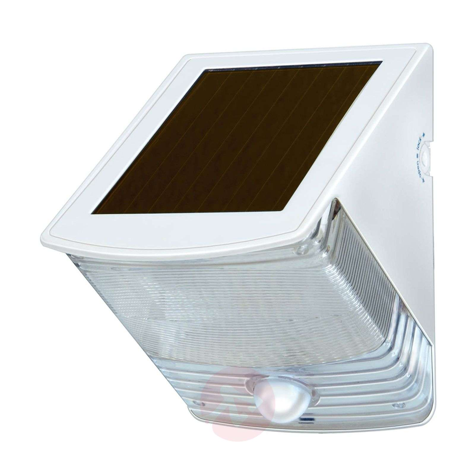 Aplique de pared LED solar SOL 04 IP44 blanco-1540164-02