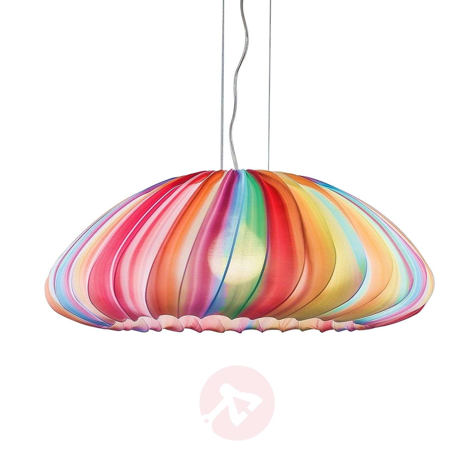 Axolight Muse lámpara colgante, multicolor, 80 cm-1088015-01