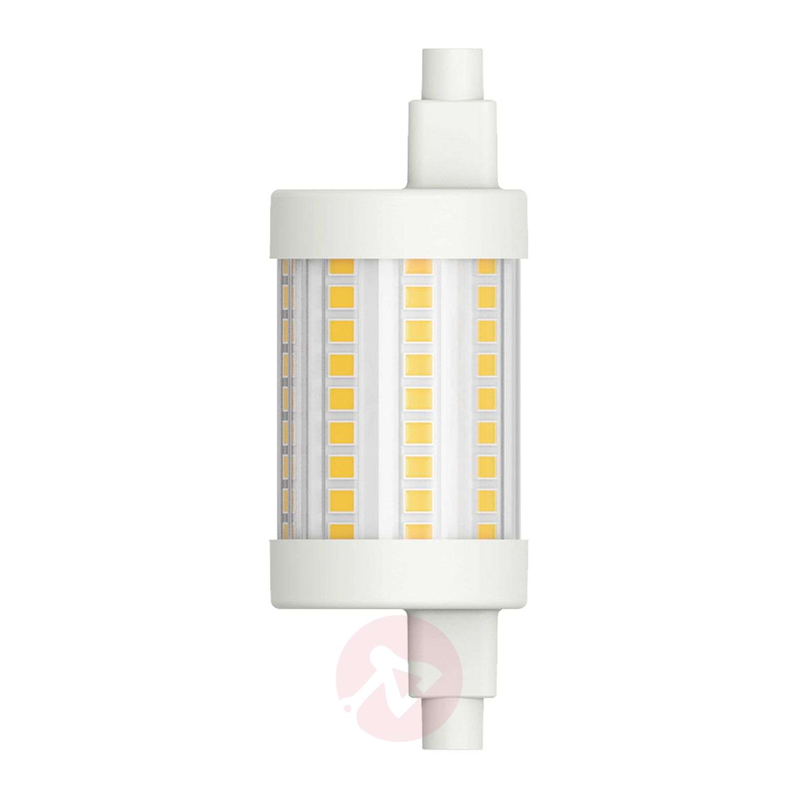 Bombilla tubular LED R7s 78,3 mm 8W, blanco cálido-6520304-01