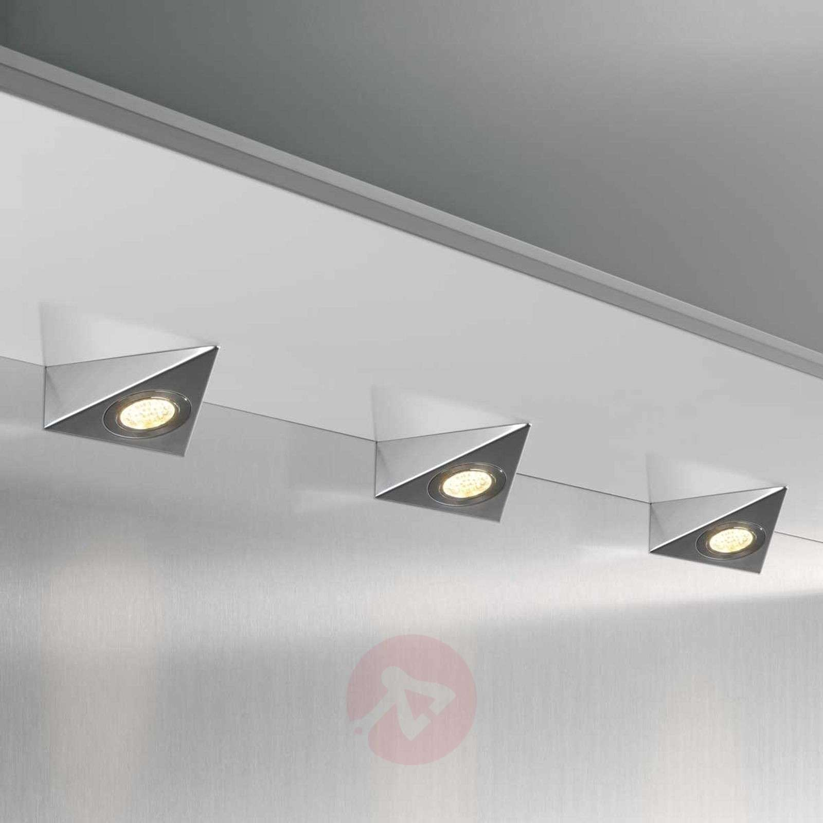 DHL CF Set 3 lámparas LED bajo mueble triangular-3025275-01