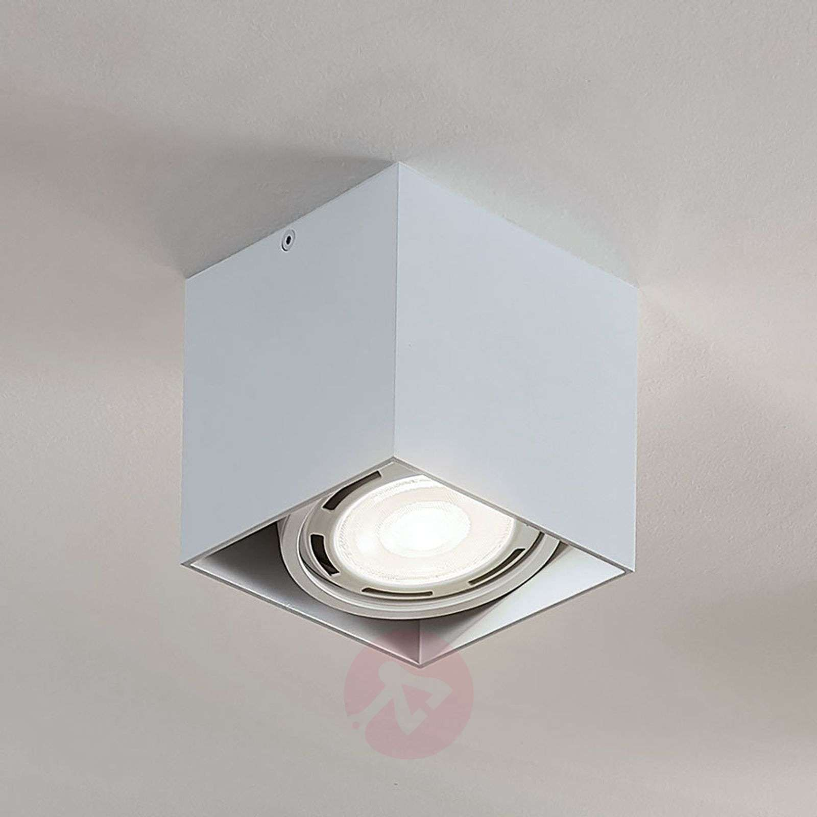 Downlight LED Rosalie, atenuable, 1 luz, blanco-9621907-02