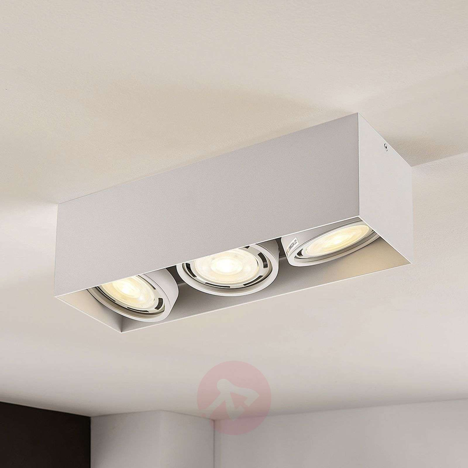 Downlight LED Rosalie, atenuable, 3 luces, blanco-9621911-02