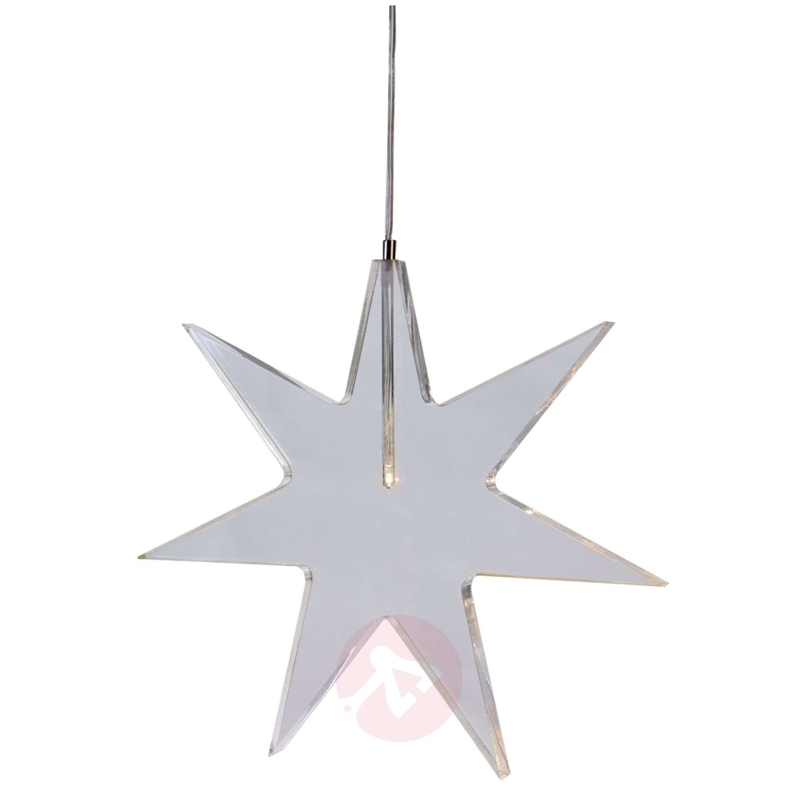Estrella LED transparente lámpara decorativa Karla-1522505-01