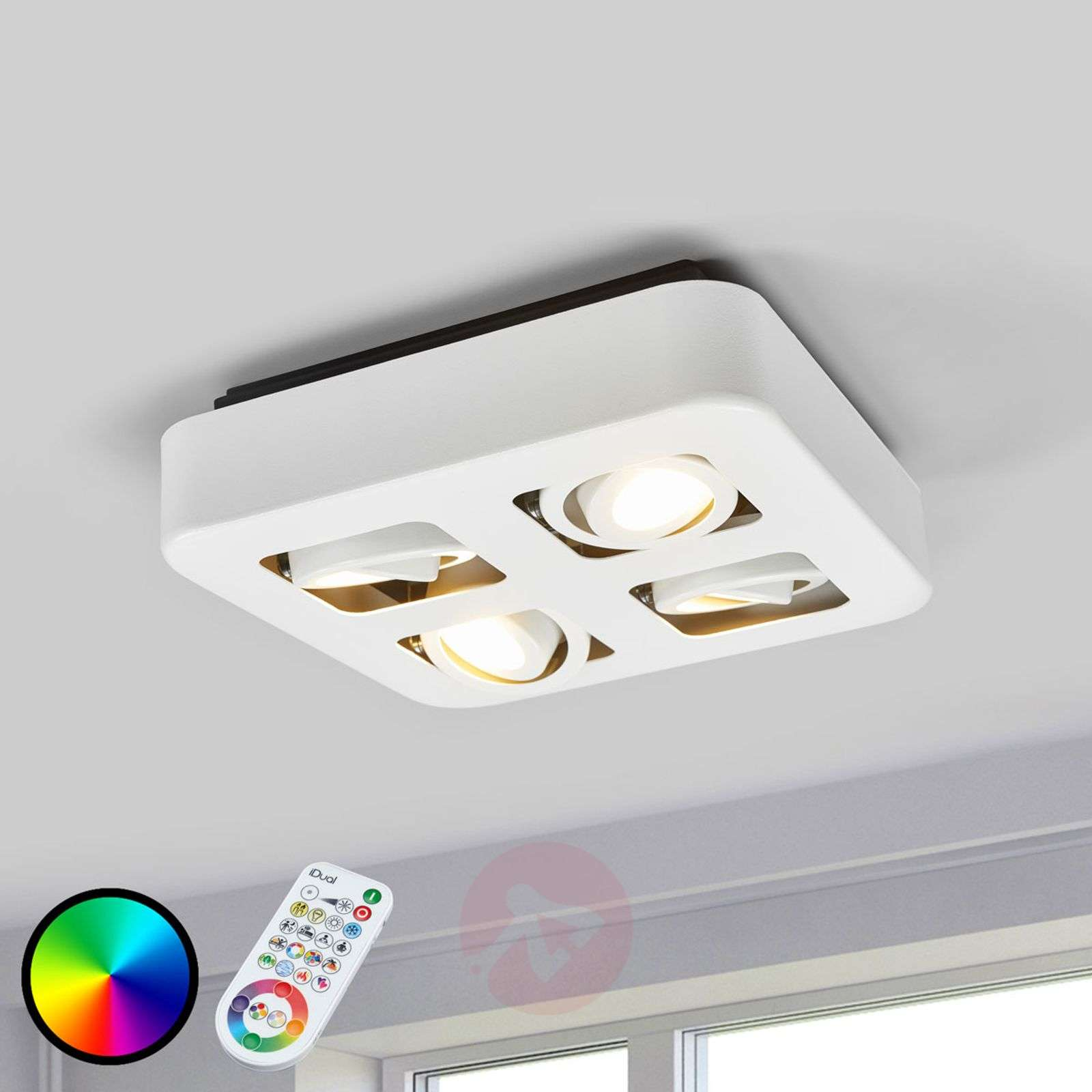 Control de luces iDual LED | lampara.es