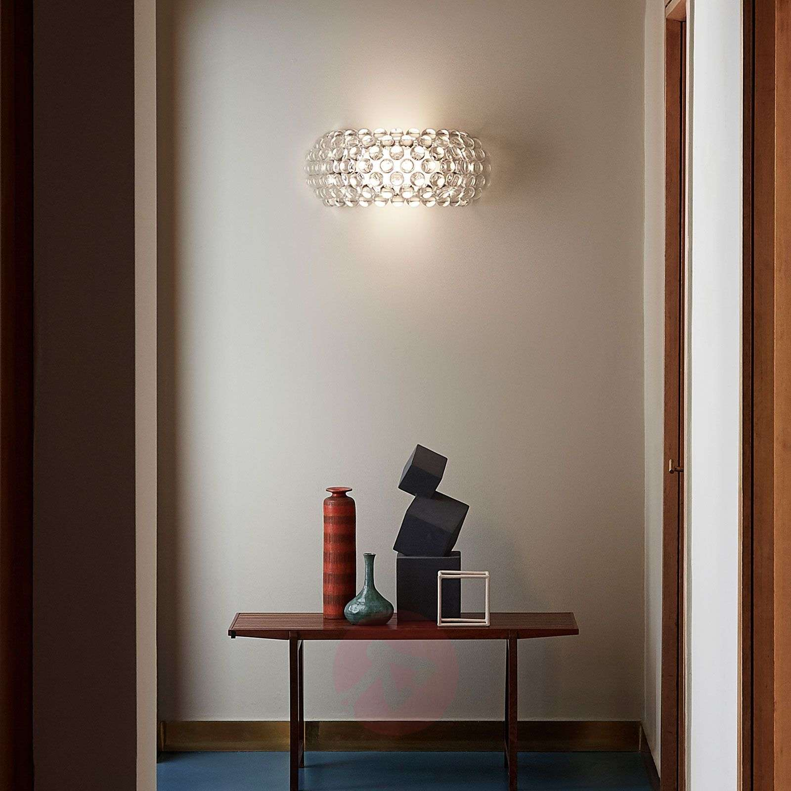 Foscarini MyLight Caboche media LED, transparente-3560179-01