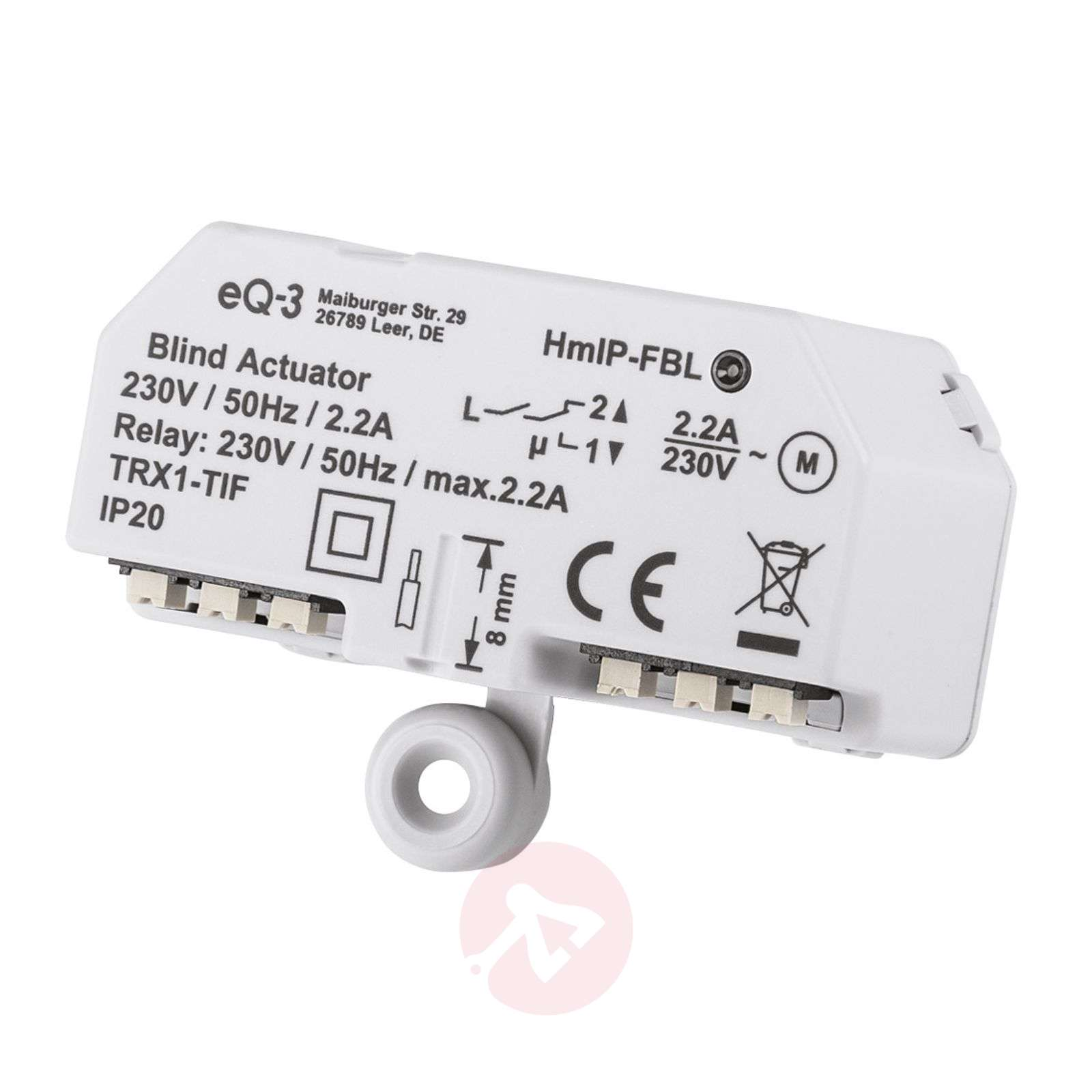 Homematic IP actuador persiana oculto/superficie-3067050-01