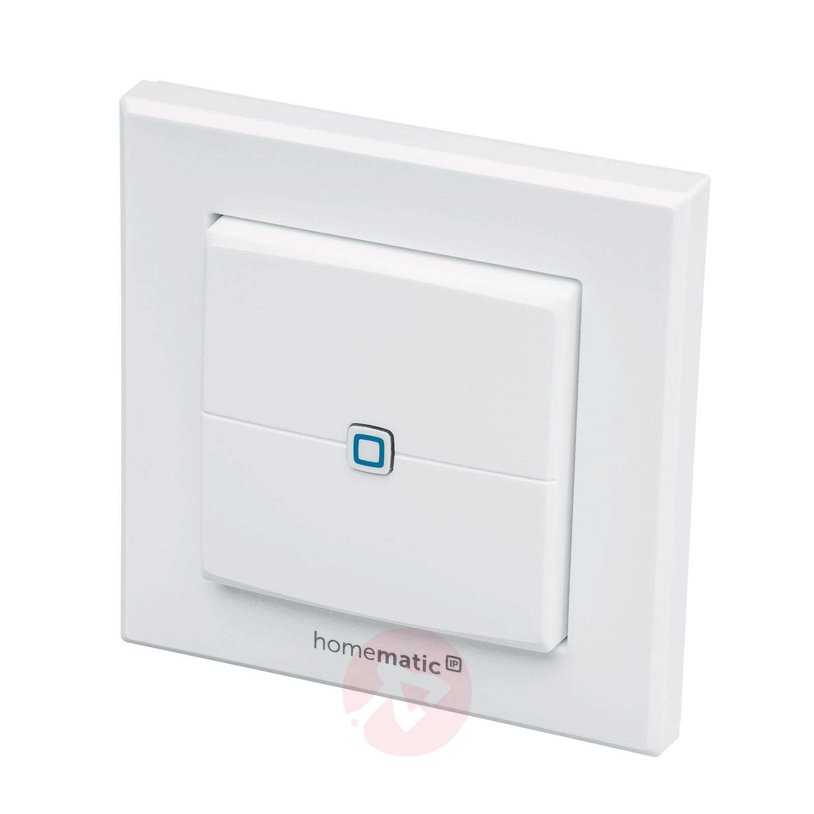 Homematic IP interruptor de pared, doble-3067022-01