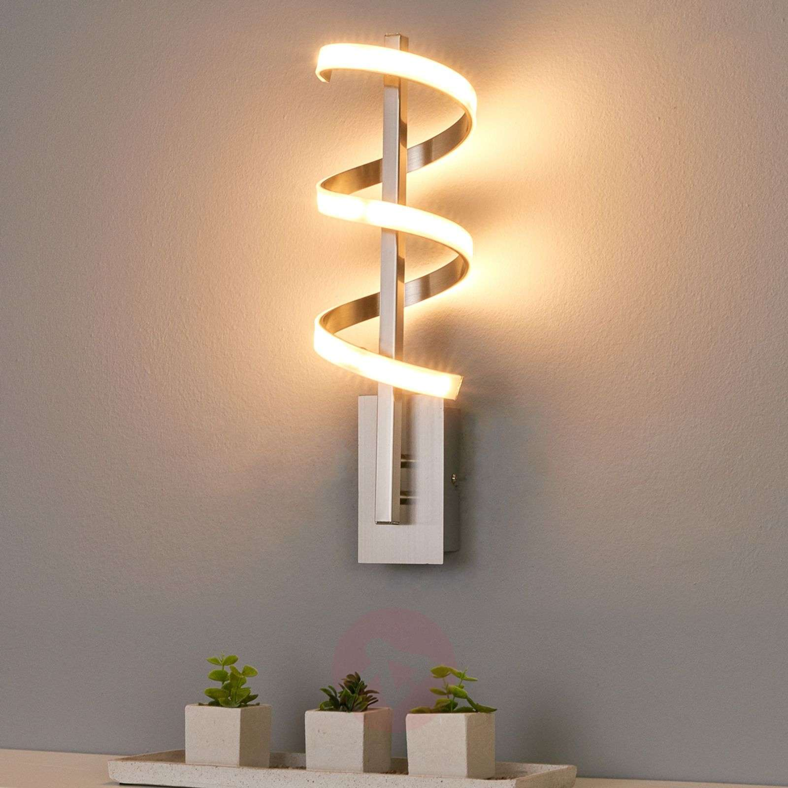 Lámpara de pared LED torcida Pierre-9985029-01