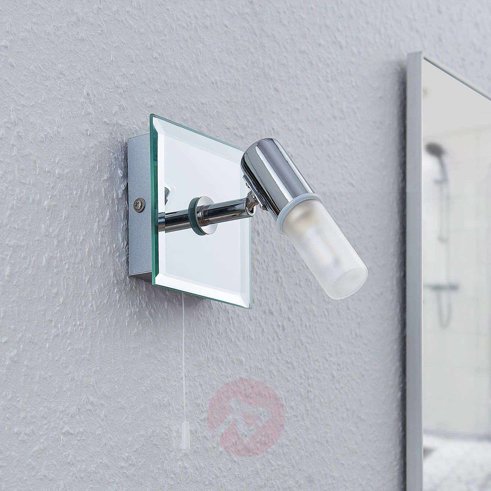 Lámpara de pared Zela, lámpara de baño interruptor-9624383-02