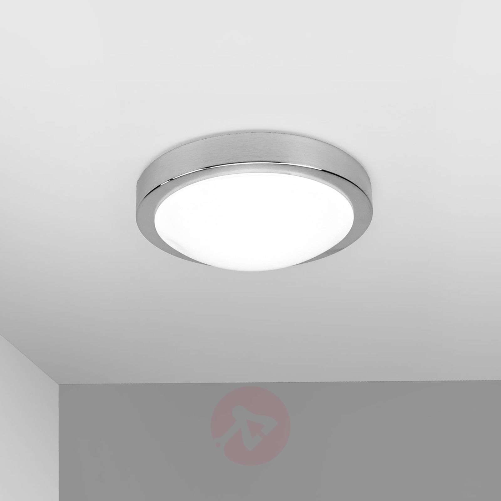 Compra l mpara de techo led aras para ba o aluminio for Lamparas de pared para bano
