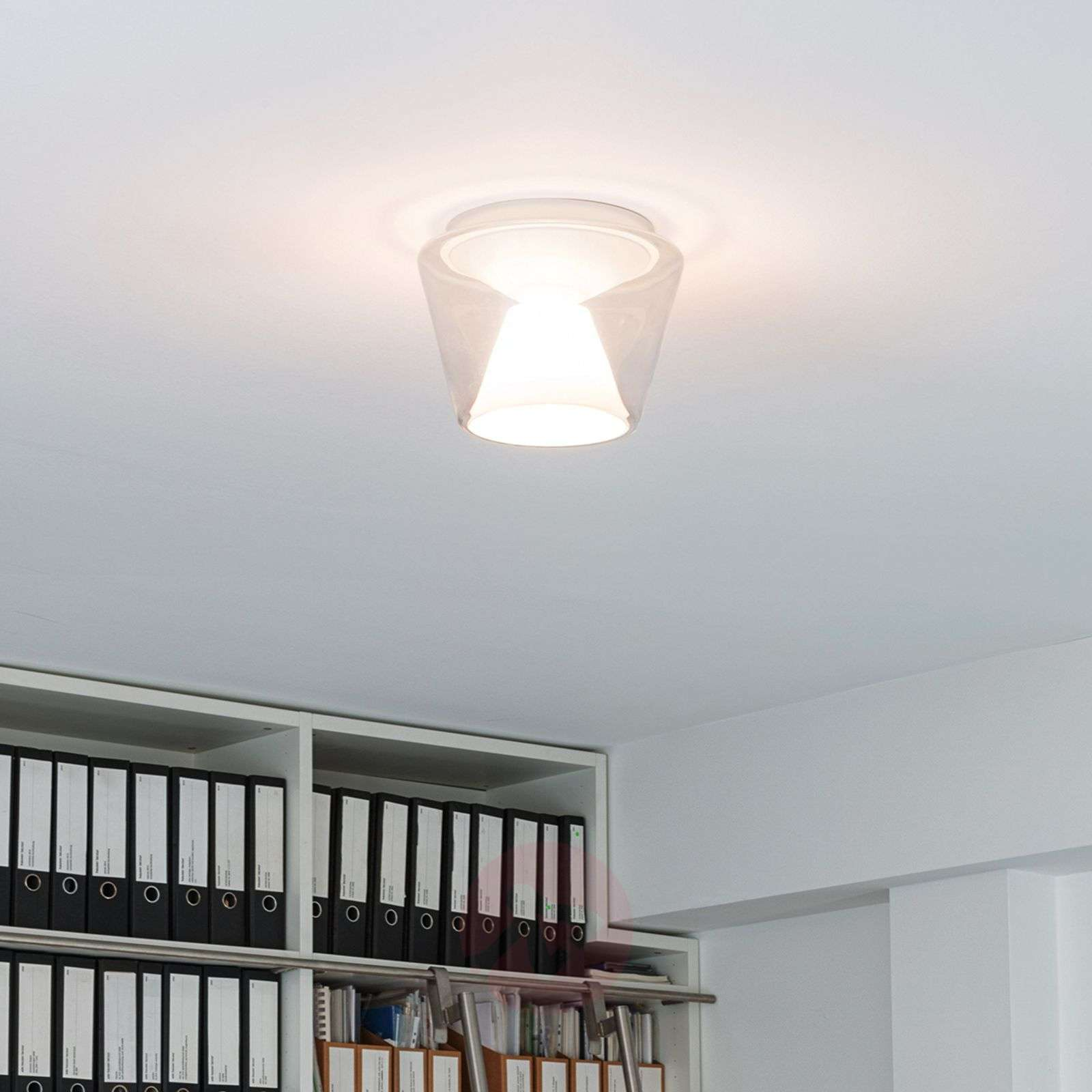 Compra l mpara de techo led de dise o annex soplado for Lamparas led diseno