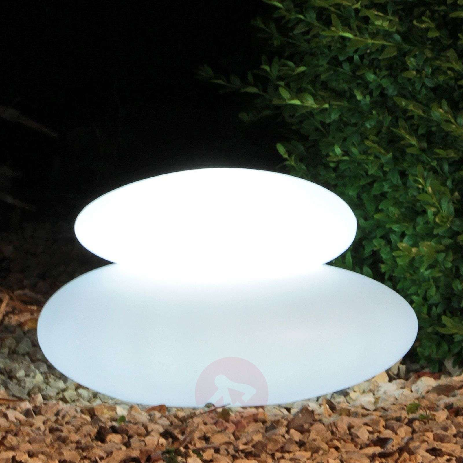 lámpara decor. exterior LED-Adeko Shining Stone-1004087-01