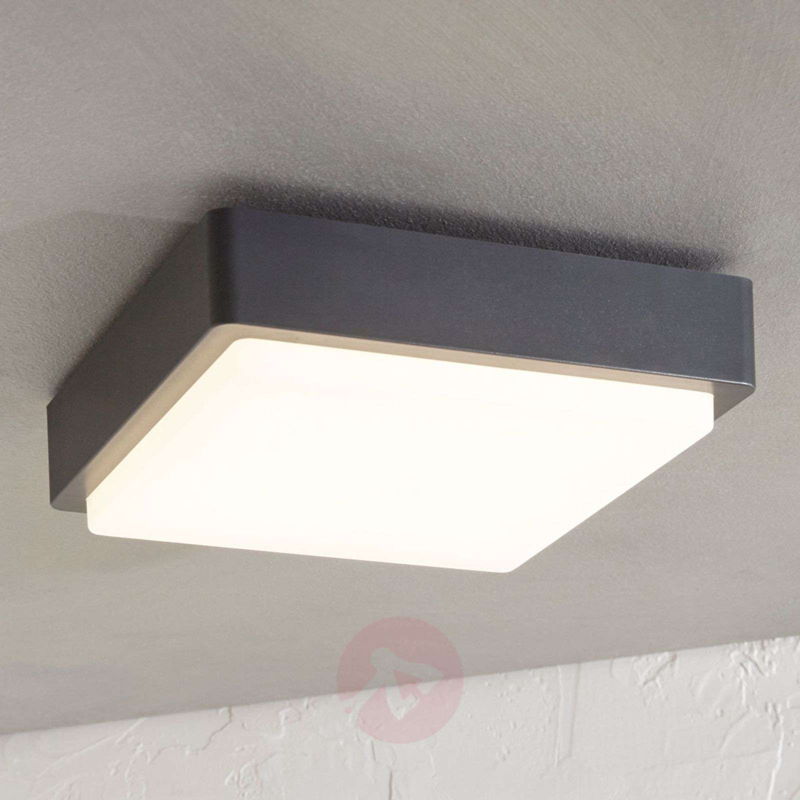 Lámpara LED de techo exterior Nermin IP65, angular-9949012-01