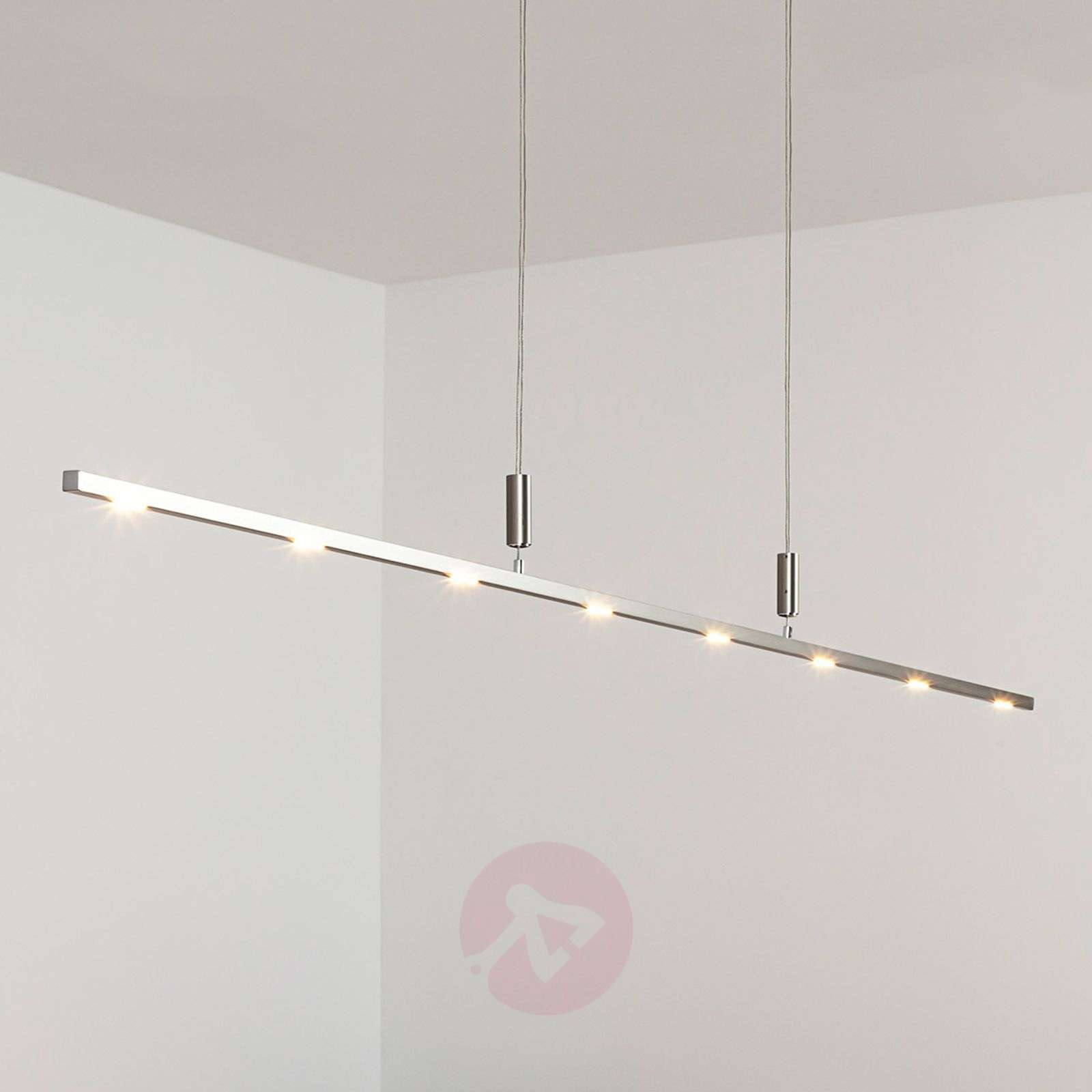 Lámpara LED suspendida Tolu 180 cm, intens. regul.-6722003-012