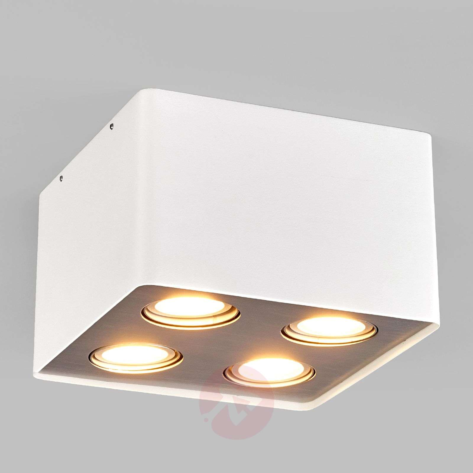 Compra l mpara techo led cocina giliano blanca 4 luces for Lamparas led interior