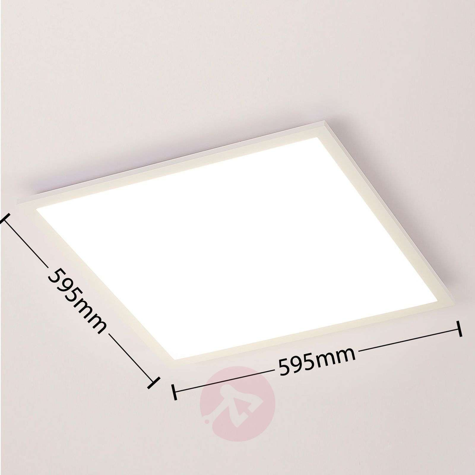 Panel LED Lysander, color luminoso ajustable-9621550-01
