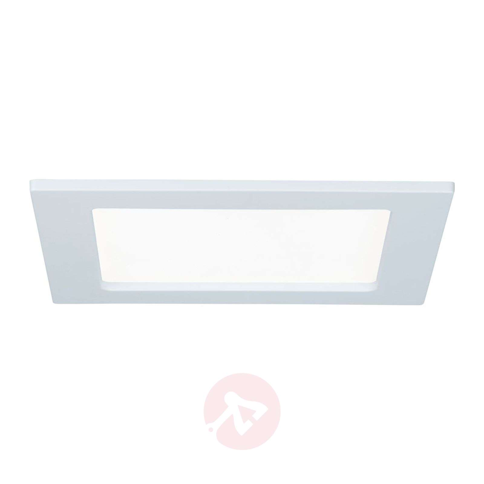 Paulmann panel LED, cuadrado, 12W, 4.000 K, blanco-7601340-01