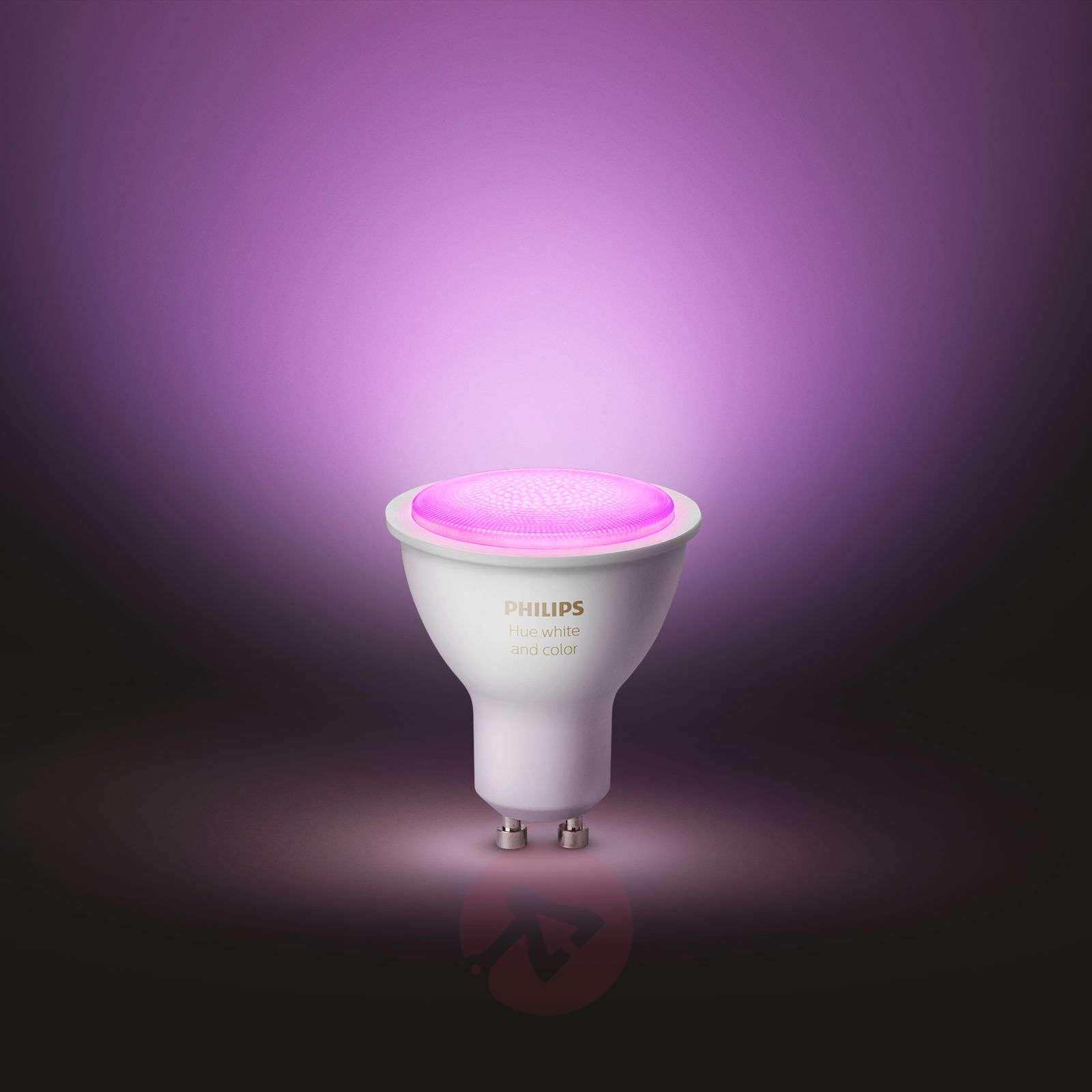 Philips Hue White and Color Ambiance 5,7 W GU10 LED-7534130-01