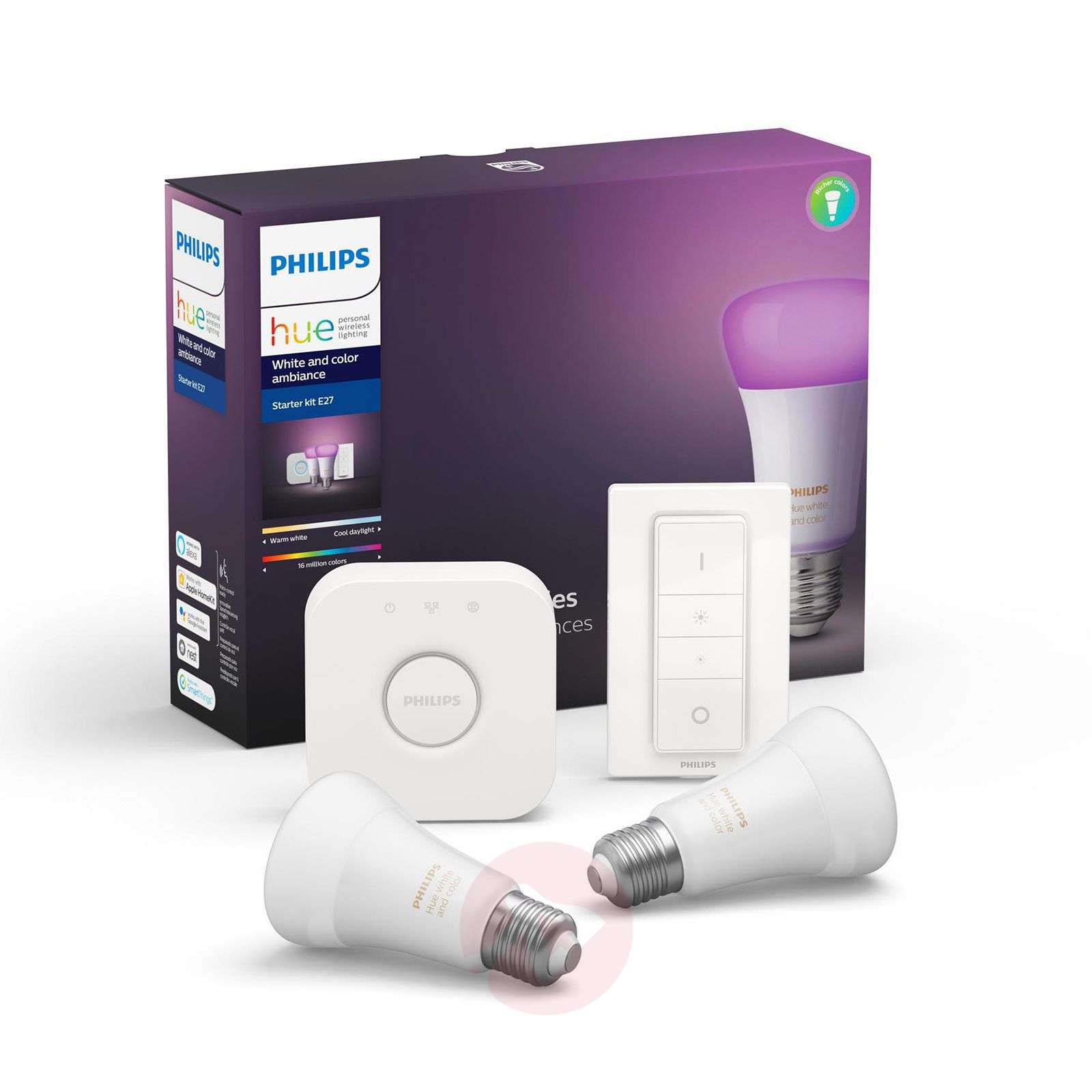 Philips Hue White and Color Ambiance E27 Starter-Kit-7534165-01