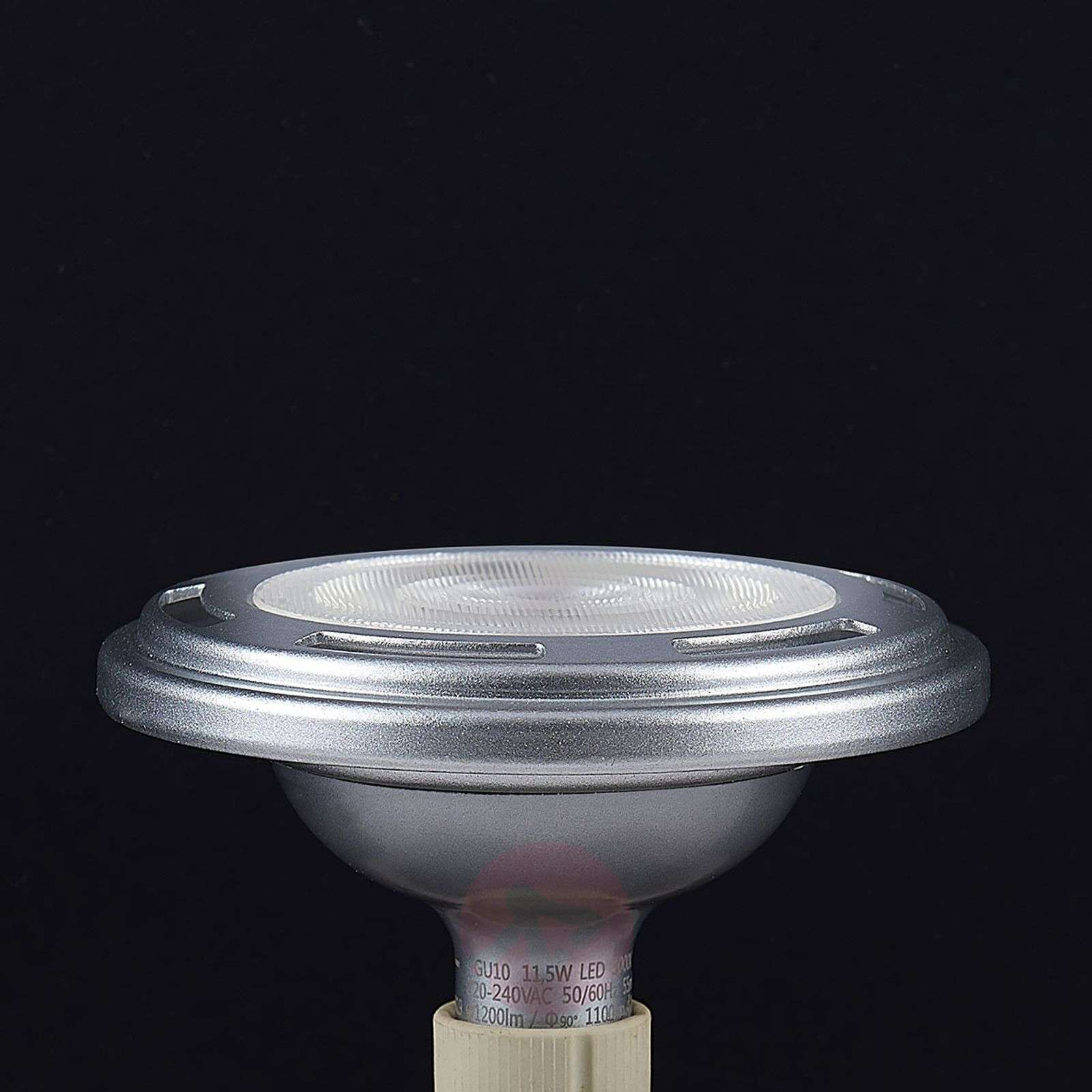 Reflector LED GU10 ES111 11,5W atenuable plateado