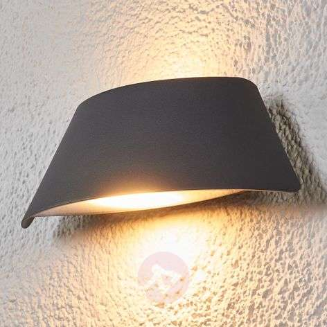Aplique de pared exterior LED trapez. Glen IP65