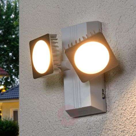 Aplique LED de exterior Double Spot Noxlite Smart