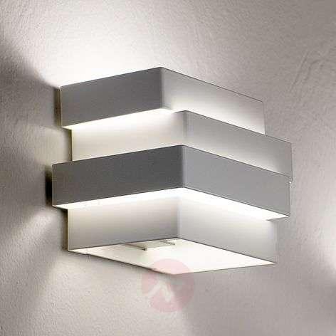 Aplique LED Escape Cube, blanco