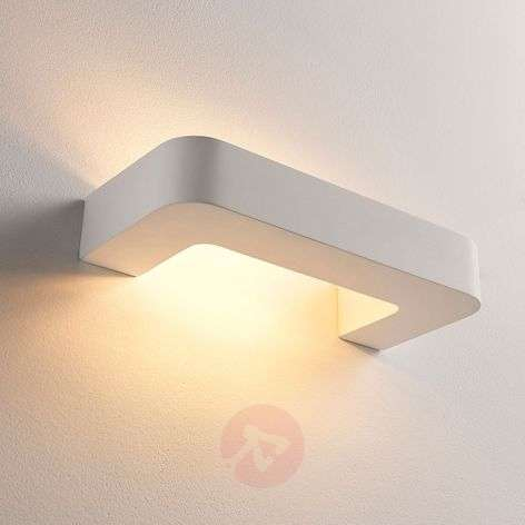 Aplique LED Julika forma estribo, escayola blanca-9621323-320