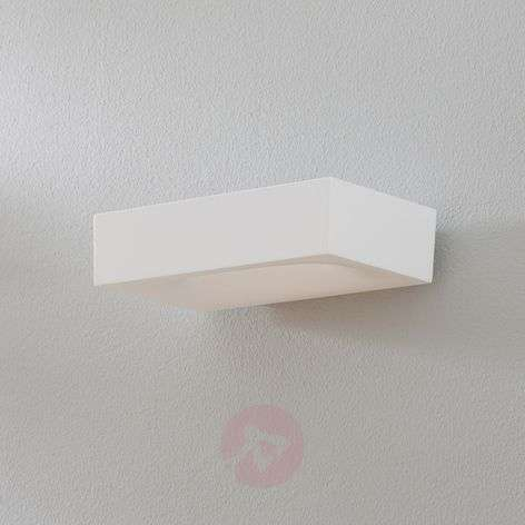 Aplique LED Melete en blanco, 2700 K