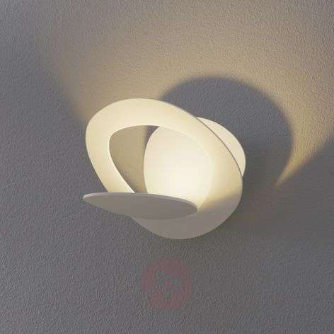 Aplique LED Pirce Micro en blanco, 3000 K
