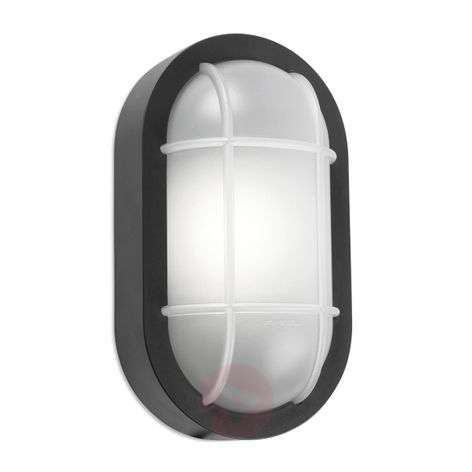 Aplique para exterior con mampara LED Turtled