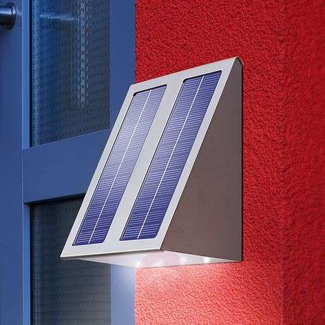 Aplique solar de diseño para pared Superefecto