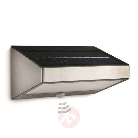 Aplique solar de pared Greenhouse sensor de mov.