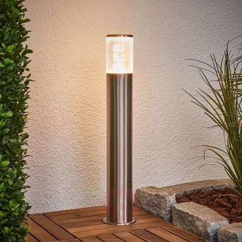 Baliza Belen de acero inoxidable con LED