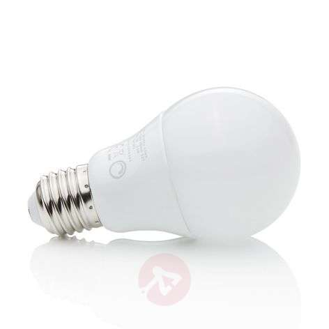 Bombilla LED E27 8,6 W 827 mate, atenuable