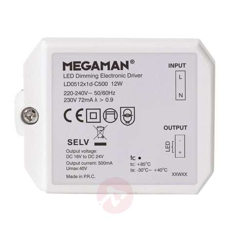 Controlador LED para Rico HR, atenuable, 12 W