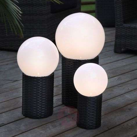 Esfera LED solar Lug con base