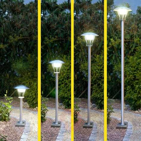 Farola solar LED Orlando con altura regulable