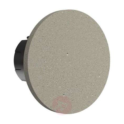 Foco de pared LED empotrable Camouflage 140, IP65