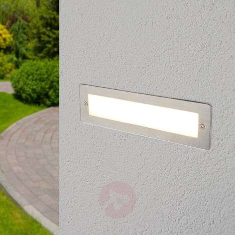 Foco de pared LED empotrable Jonte para exteriores