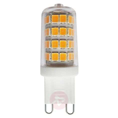 G9 3W 827 bombilla LED bi-pin transparente
