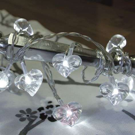 Guirnalda LED Small Hearts - 10 piezas