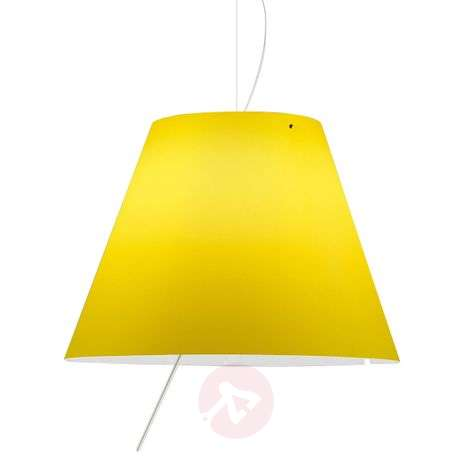 Lámpara colgante LED Costanza regulable, amarillo