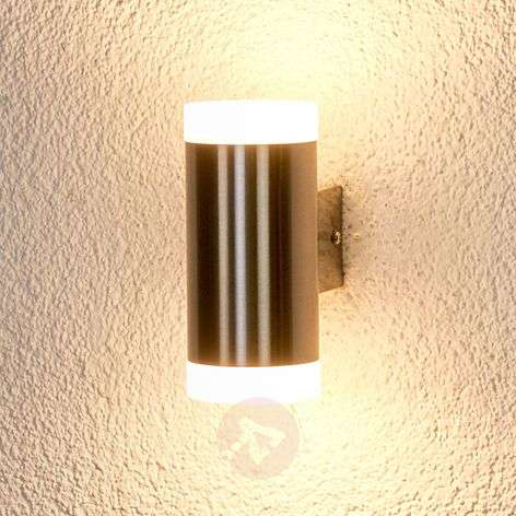 Lámpara de pared exterior LED cilíndrica Gabriel-9972041-33