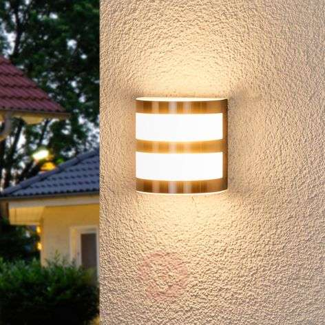 Lámpara de pared exterior LED Lucja con tiras-9972039-310