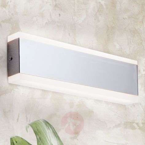 Lámpara de pared LED angular Garik, cromo-7255133-31