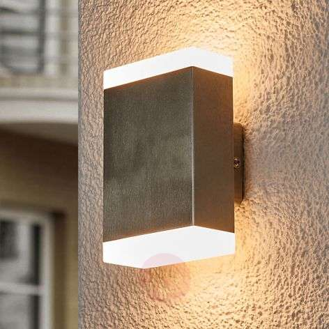 Compra l mpara de pared led cuadrada aya para exteriores for Lamparas led para exteriores