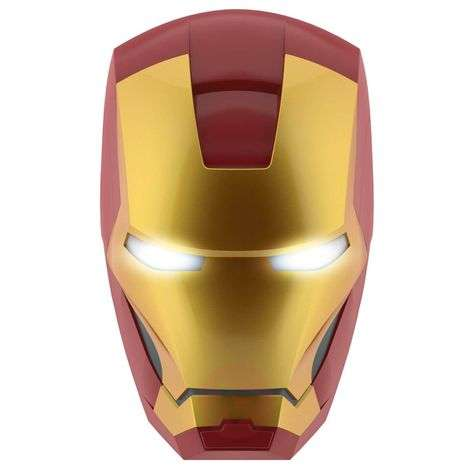 Lámpara de pared LED Iron Man de Disney con pilas